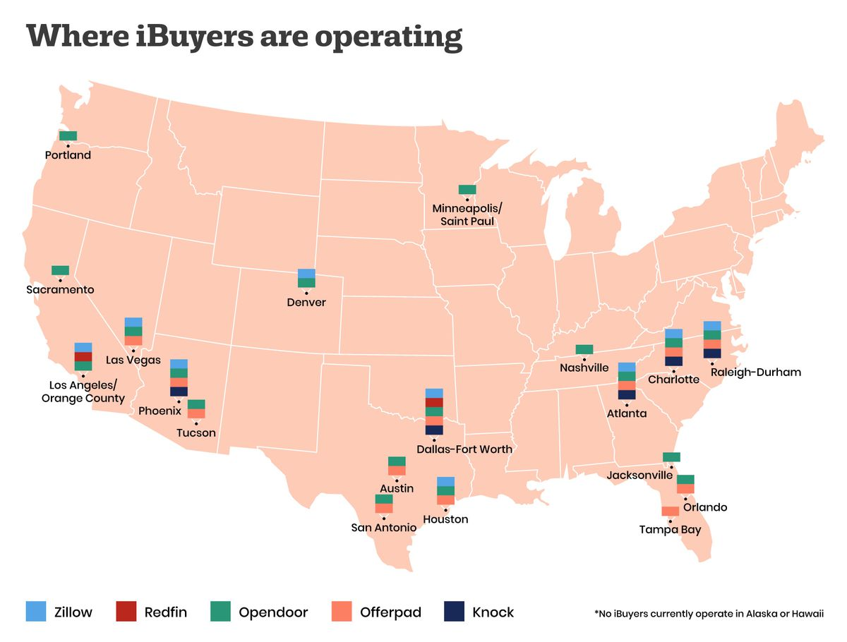Zillow, Opendoor, and 'iBuyers' are changing real estate