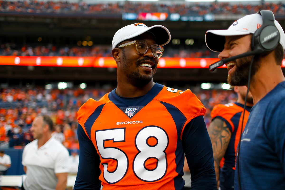 """new style d4cc6 c1c79 Five Questions with Mile High Report: """"Vic Fangio is very ..."""