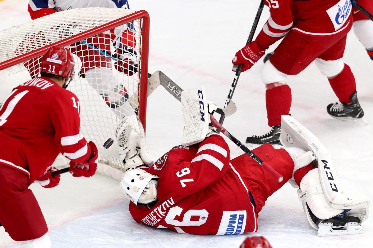 Kontinental Hockey League: Vityaz Moscow Region vs CSKA Moscow