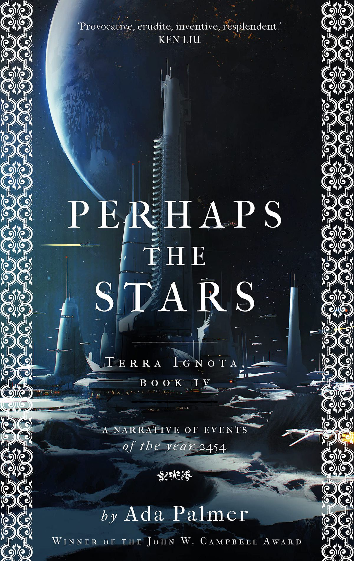 Perhaps the Stars by Ada Palmer book cover