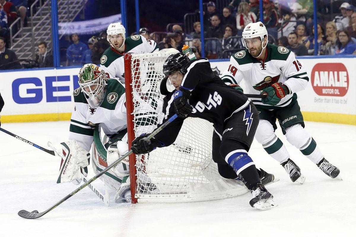 NHL: Minnesota Wild at Tampa Bay Lightning