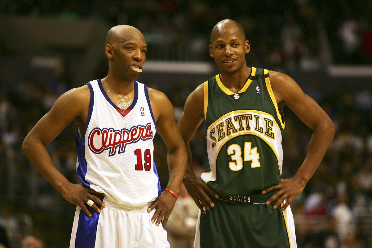 Seattle SuperSonics v Los Angeles Clippers