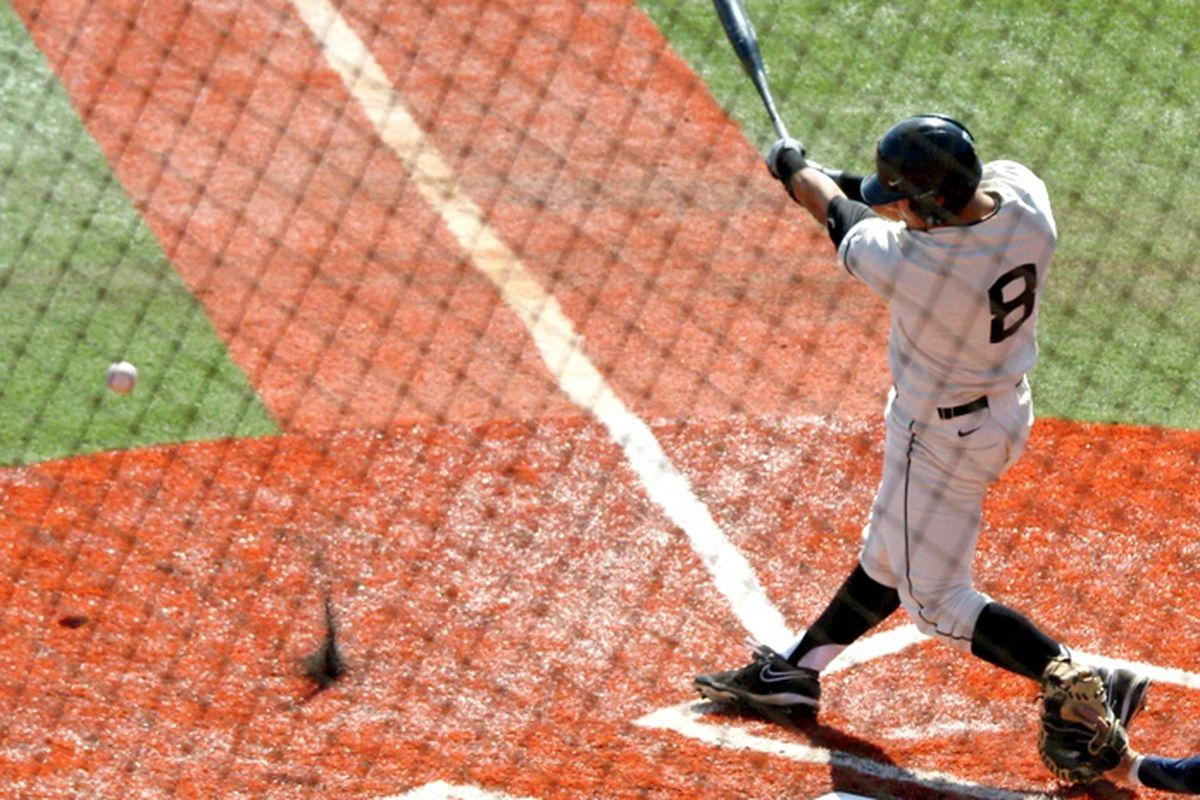 Oregon St.'s Michael Conforto is the Pac-12 Baseball Freshman of the Year. <em>(Photo by Andy Wooldridge)</em>
