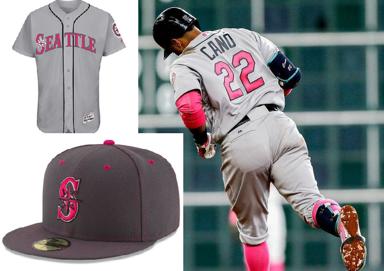 fe278ebf60b As big of a fan as I've always been of players using pink bats on Mother's  Day, I wasn't a huge fan of these Mom's Day threads.