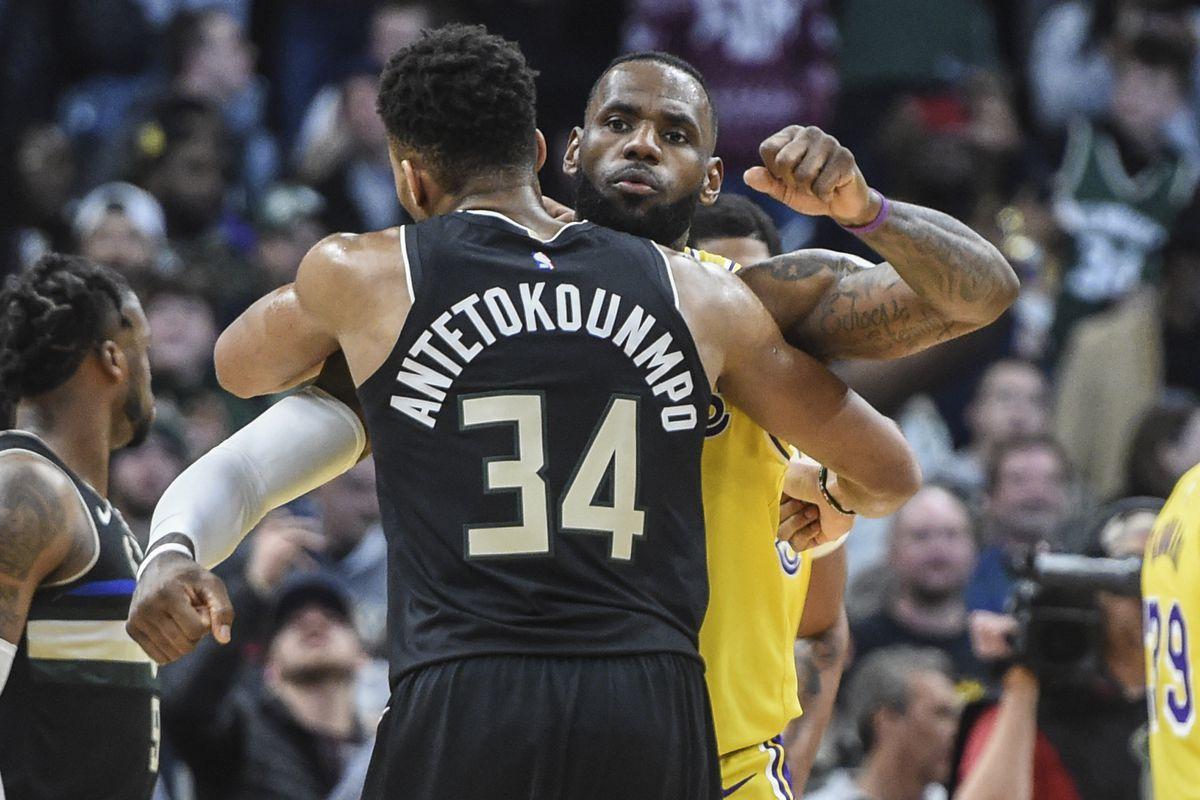 NBA: Los Angeles Lakers at Milwaukee Bucks