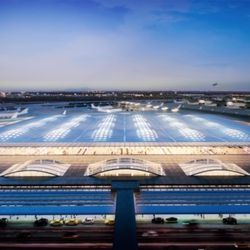 Terminal proposal by Skidmore, Owings & Merrill | Courtesy of City of Chicago