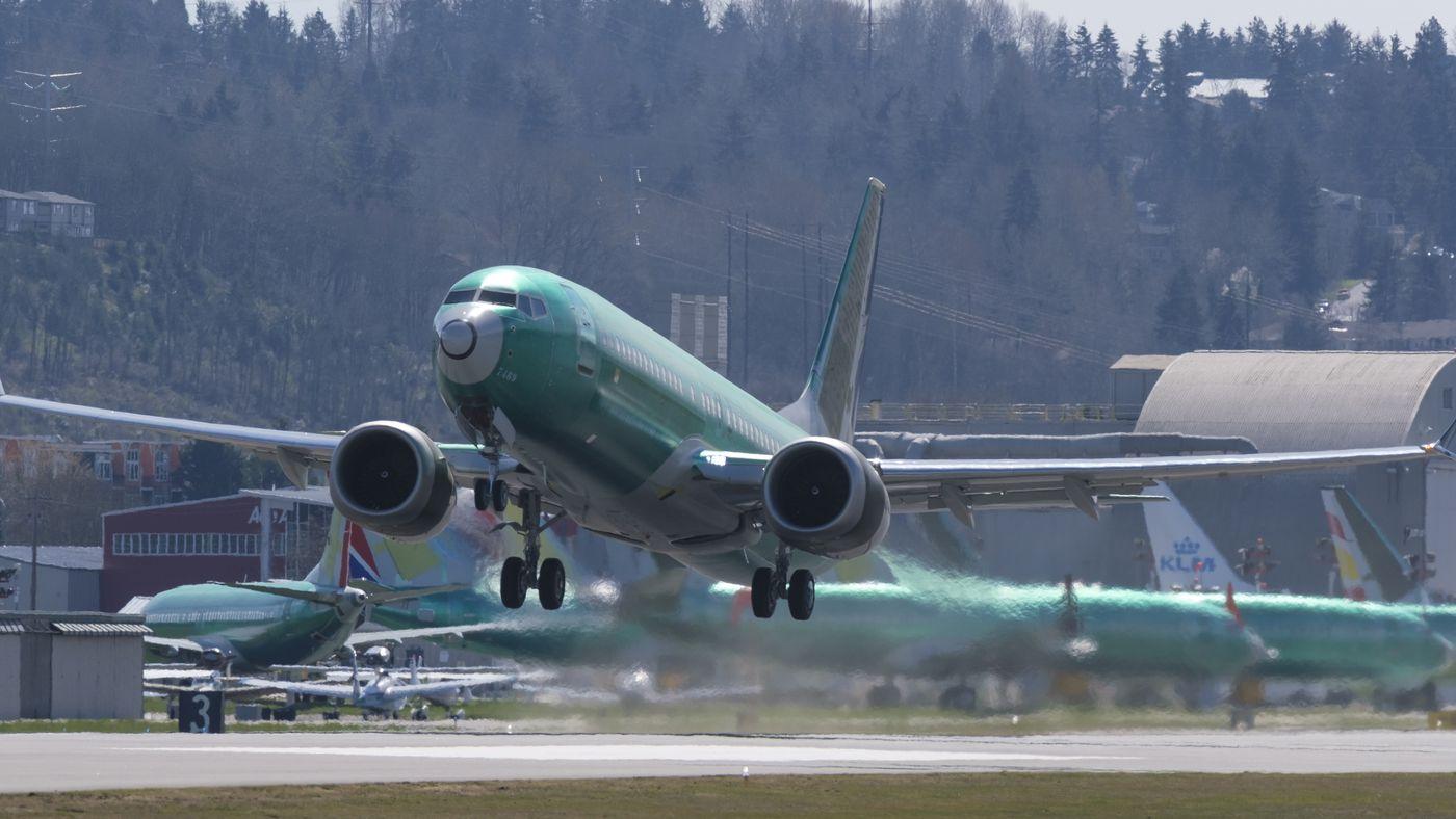 Resultado de imagen para Boeing 737 MAX grounded Renton