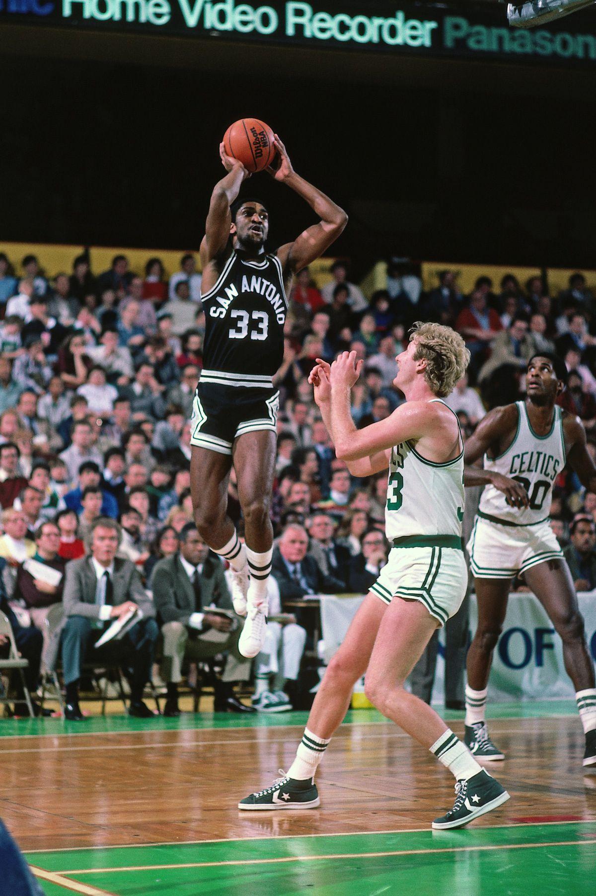 San Antonio Spurs vs. Boston Celtics