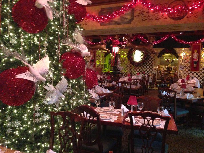 Ten dc restaurants with really festive christmas decor