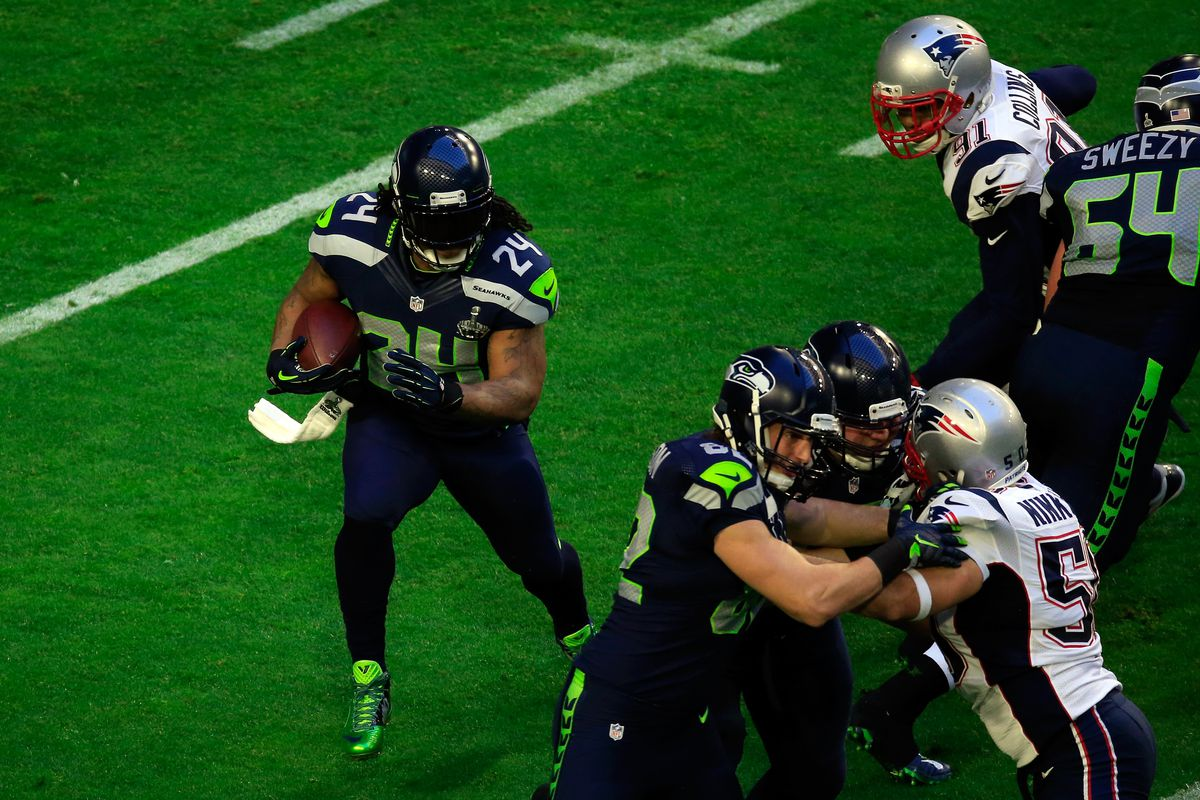 1eb7a9514 Marshawn Lynch says he couldn t have been stopped from scoring in Super  Bowl 49