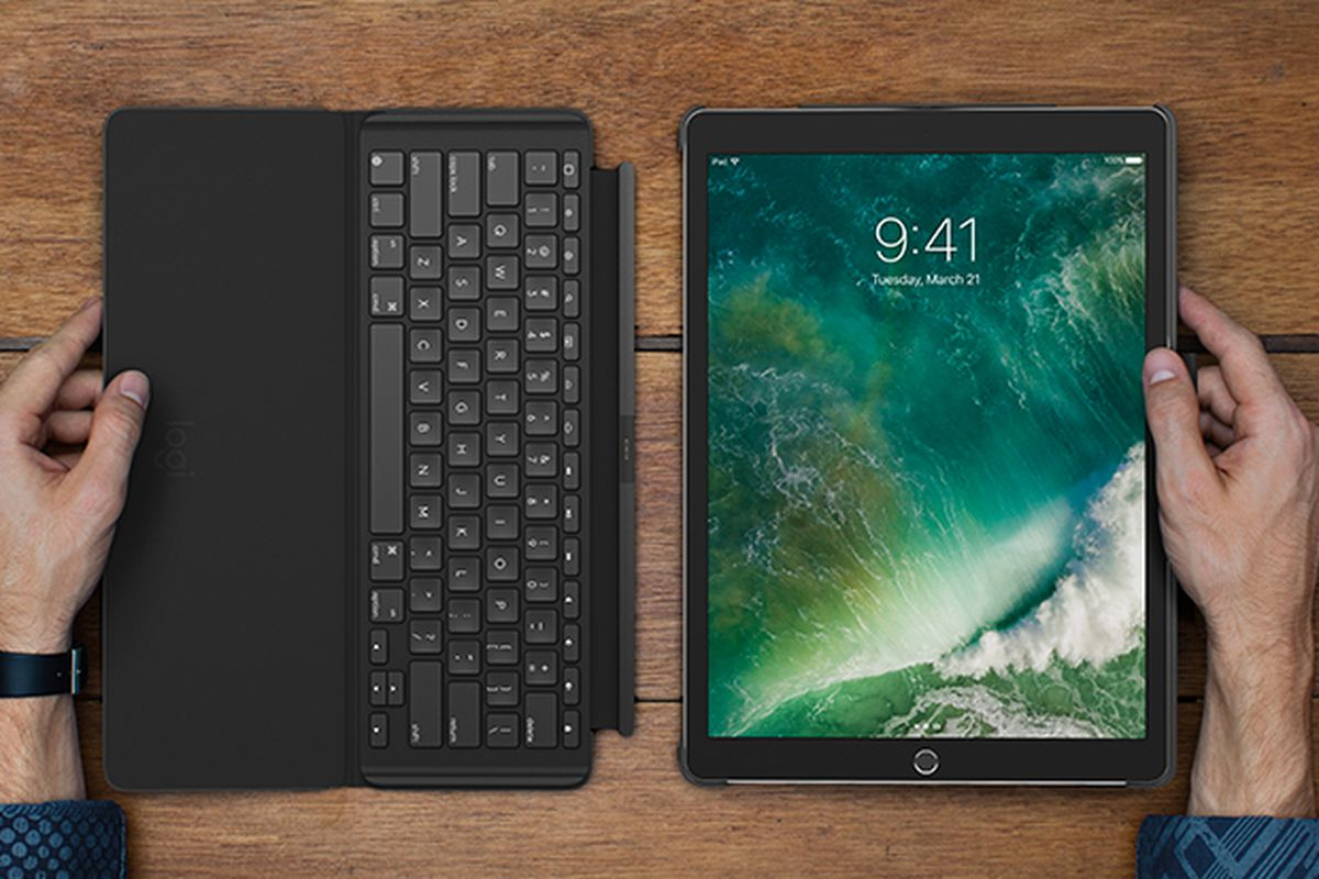 Logitech Has Released A Keyboard Case For The New 10 5 Inch Ipad Pro