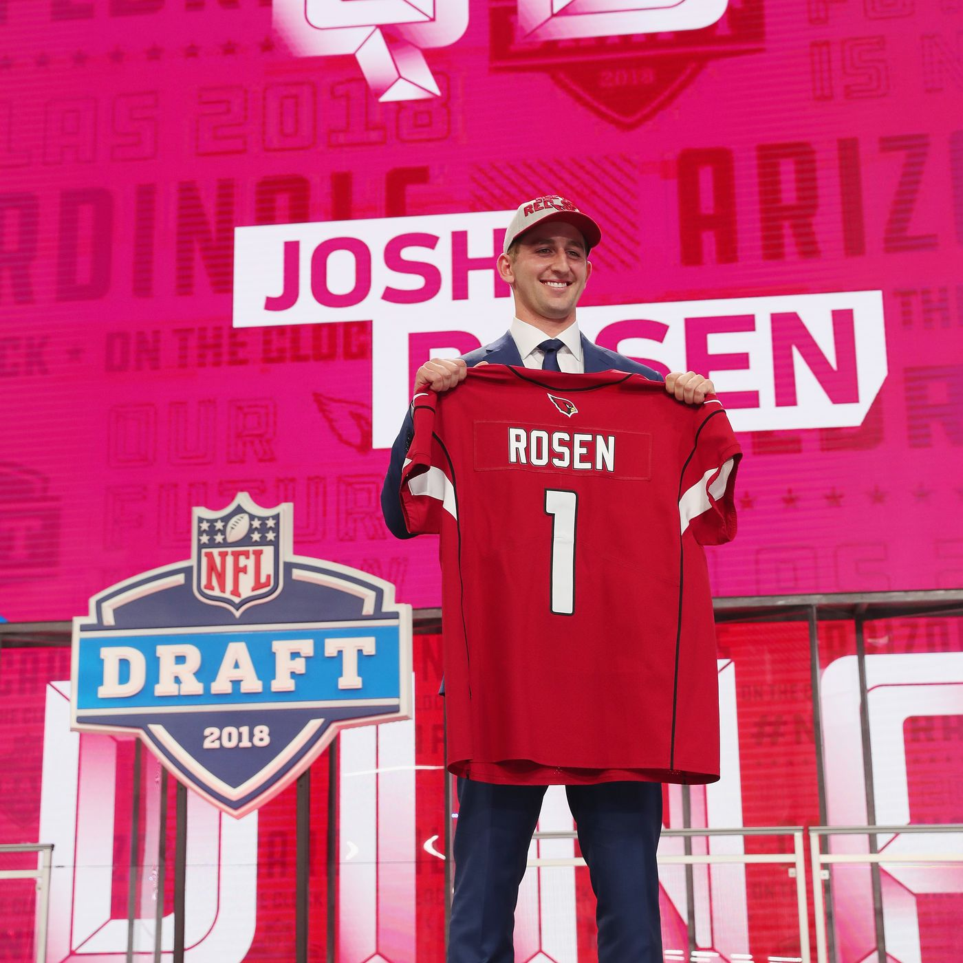 63bd9fbbf Josh Rosen signs contract with Arizona Cardinals - Revenge of the Birds
