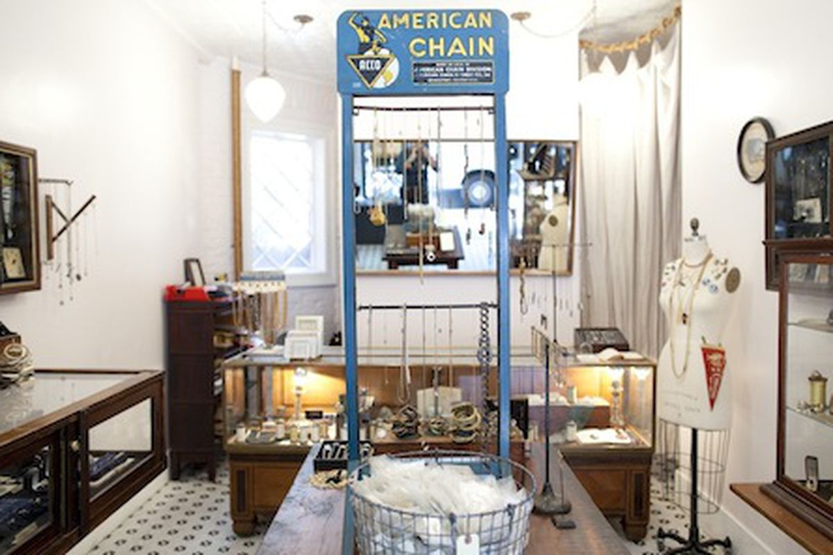 The Erica Weiner Store in Nolita; Photo by Brian Harkin