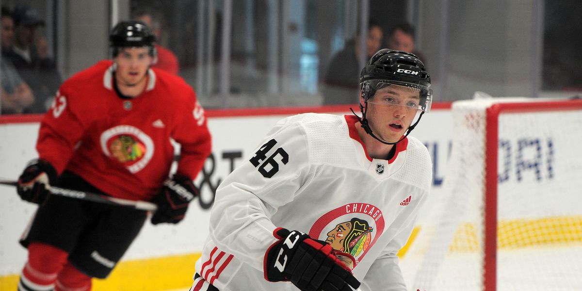 Ian Mitchell using college season to improve leadership, consistency before signing with Blackhawks