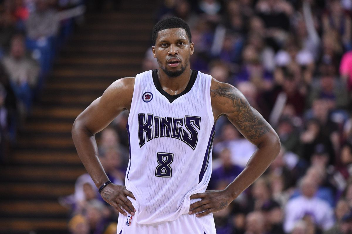 Rudy Gay'll be putting up a lot of shots tonight