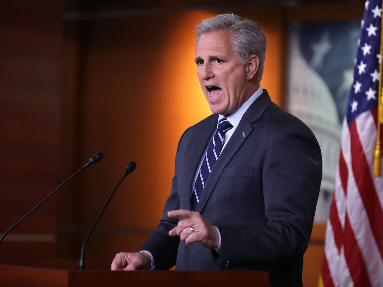 House Minority Leader Kevin McCarthy Holds Weekly Press Conference