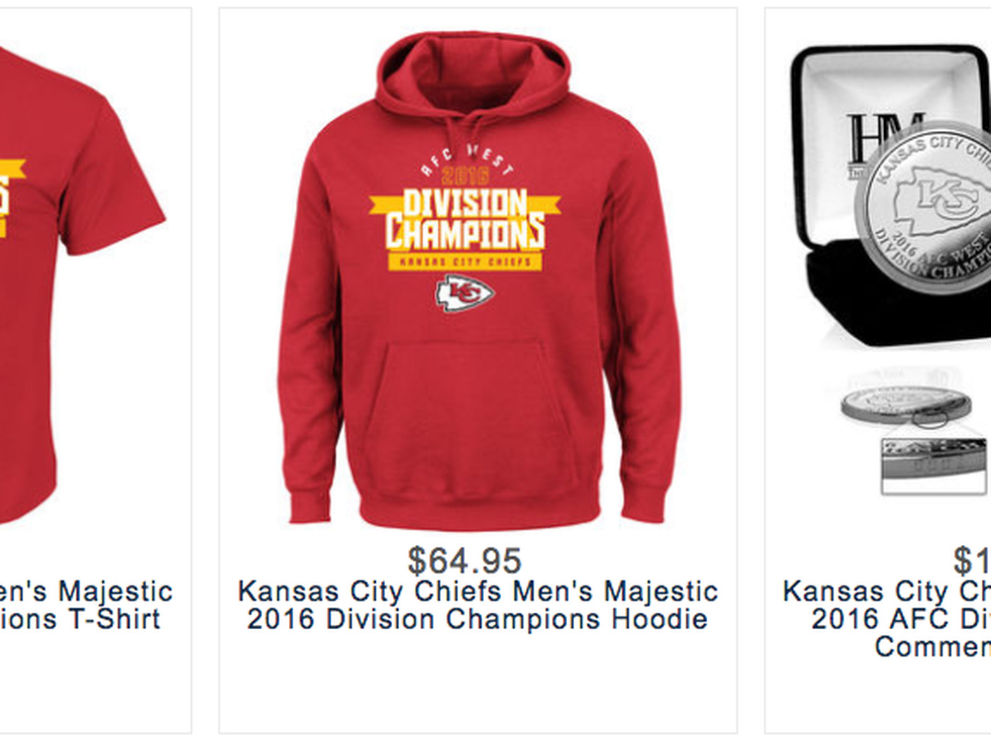 86877d05d8b107 Get your Kansas City Chiefs playoff gear: AFC West champion edition -  Arrowhead Pride