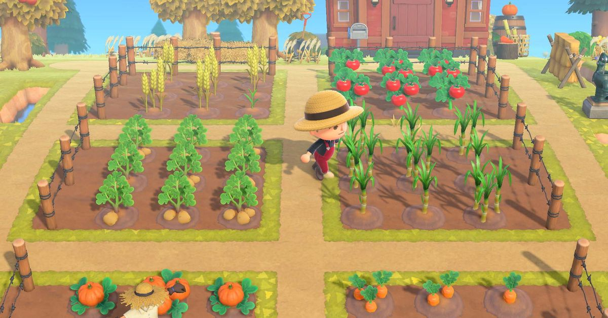 Animal Crossing players prepping impressive farms ahead of 2.0 update