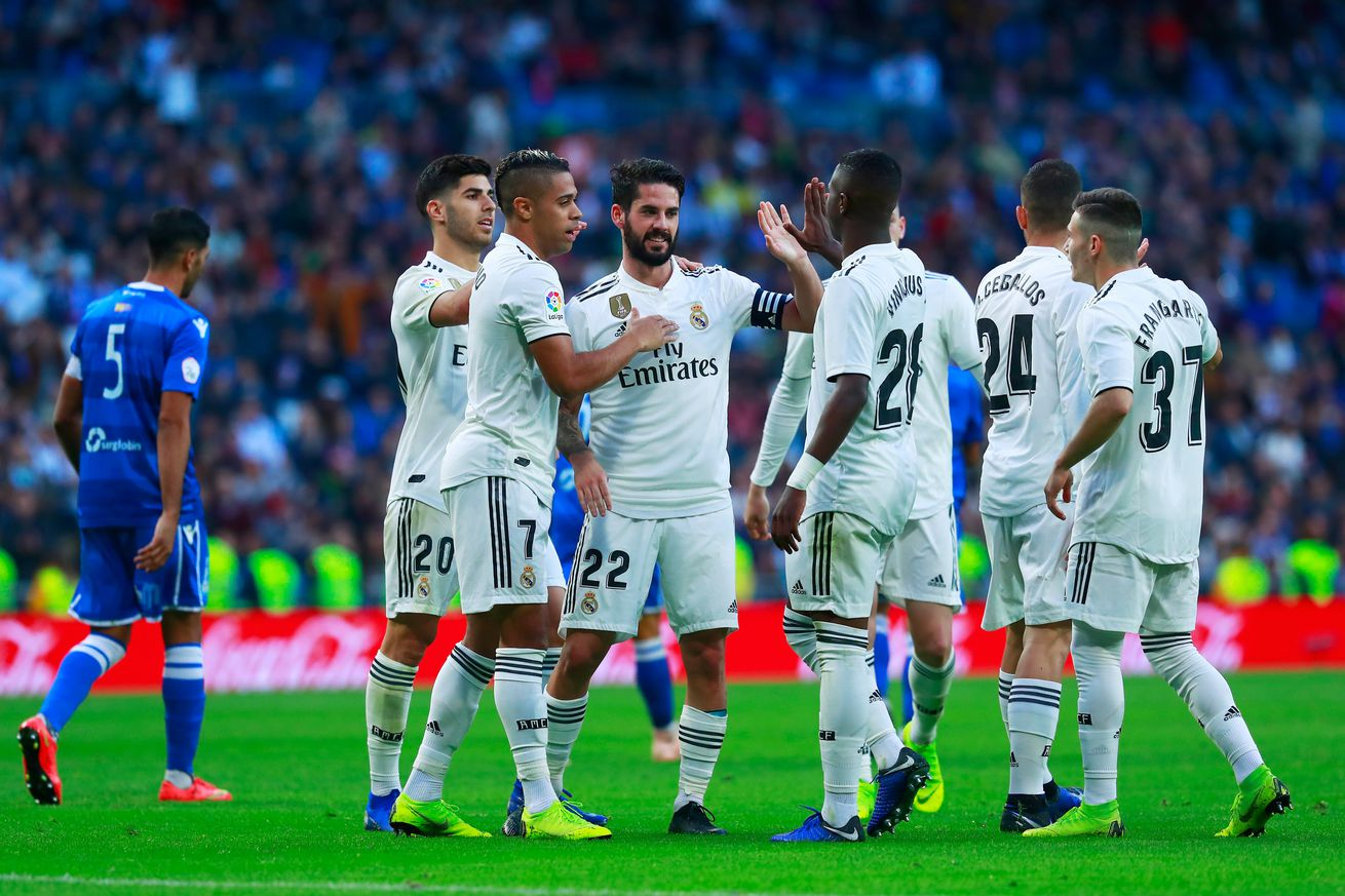 Tactical Review: Real Madrid 6 - 1 Melilla; 2018 Copa del Rey