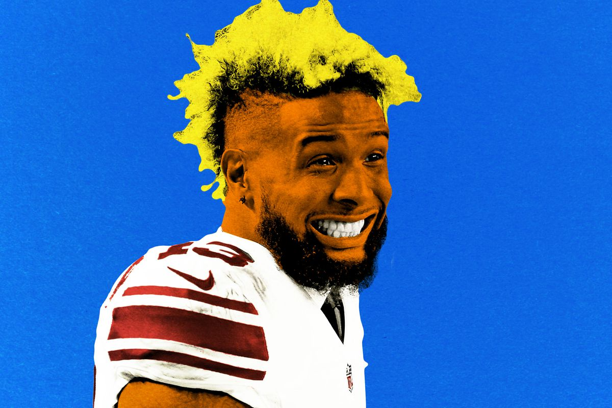 with odell beckham jr signed the giants are all in the ringer