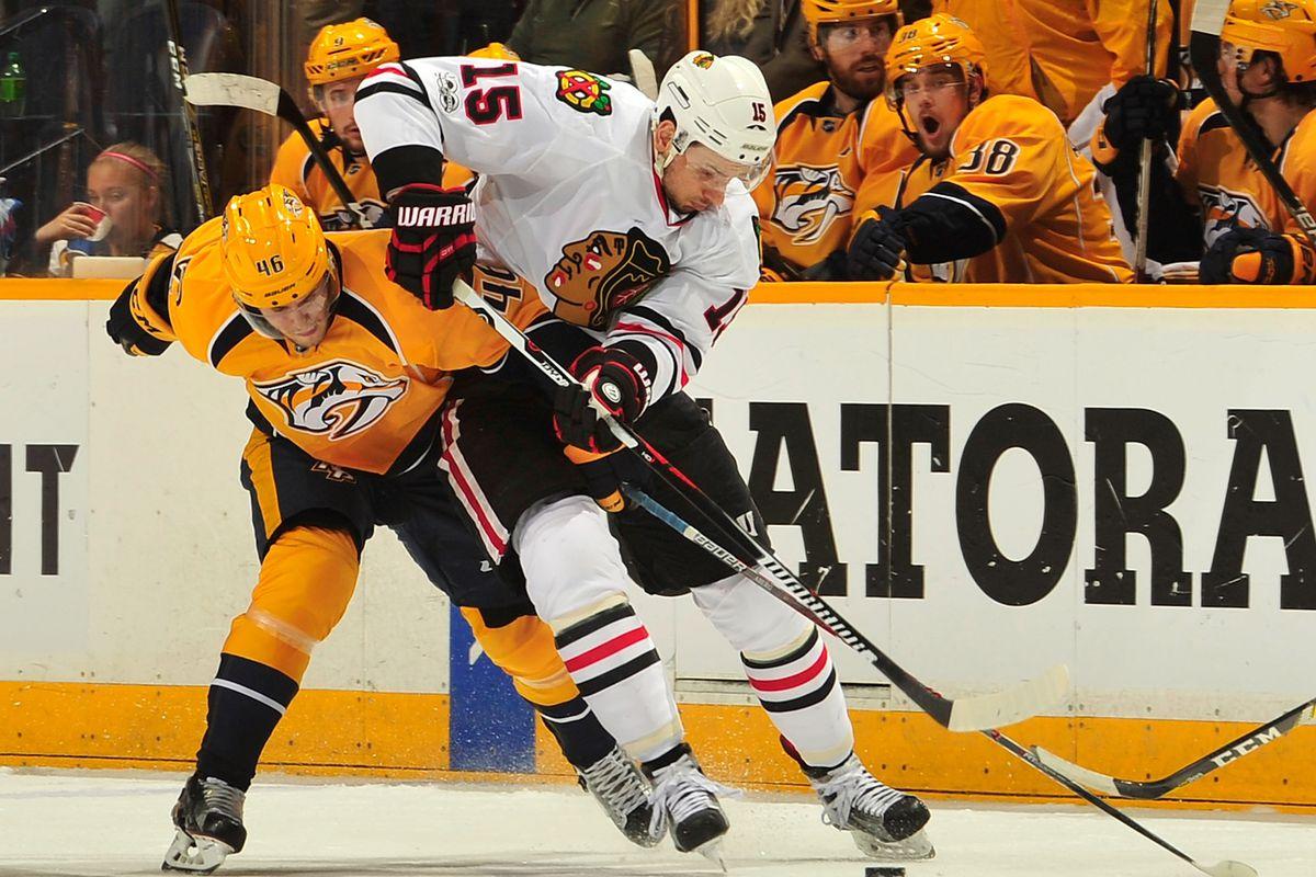 Chicago Blackhawks v Nashville Predators - Game Four