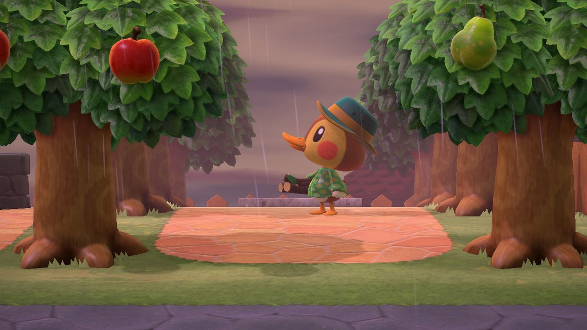 Molly the duck in Animal Crossing: New Horizons.