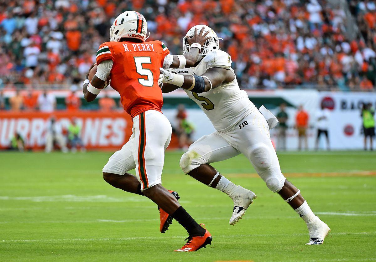 NCAA Football: Florida International at Miami