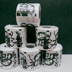 Tim Noble & Sue Webster Toilet Paper, $40