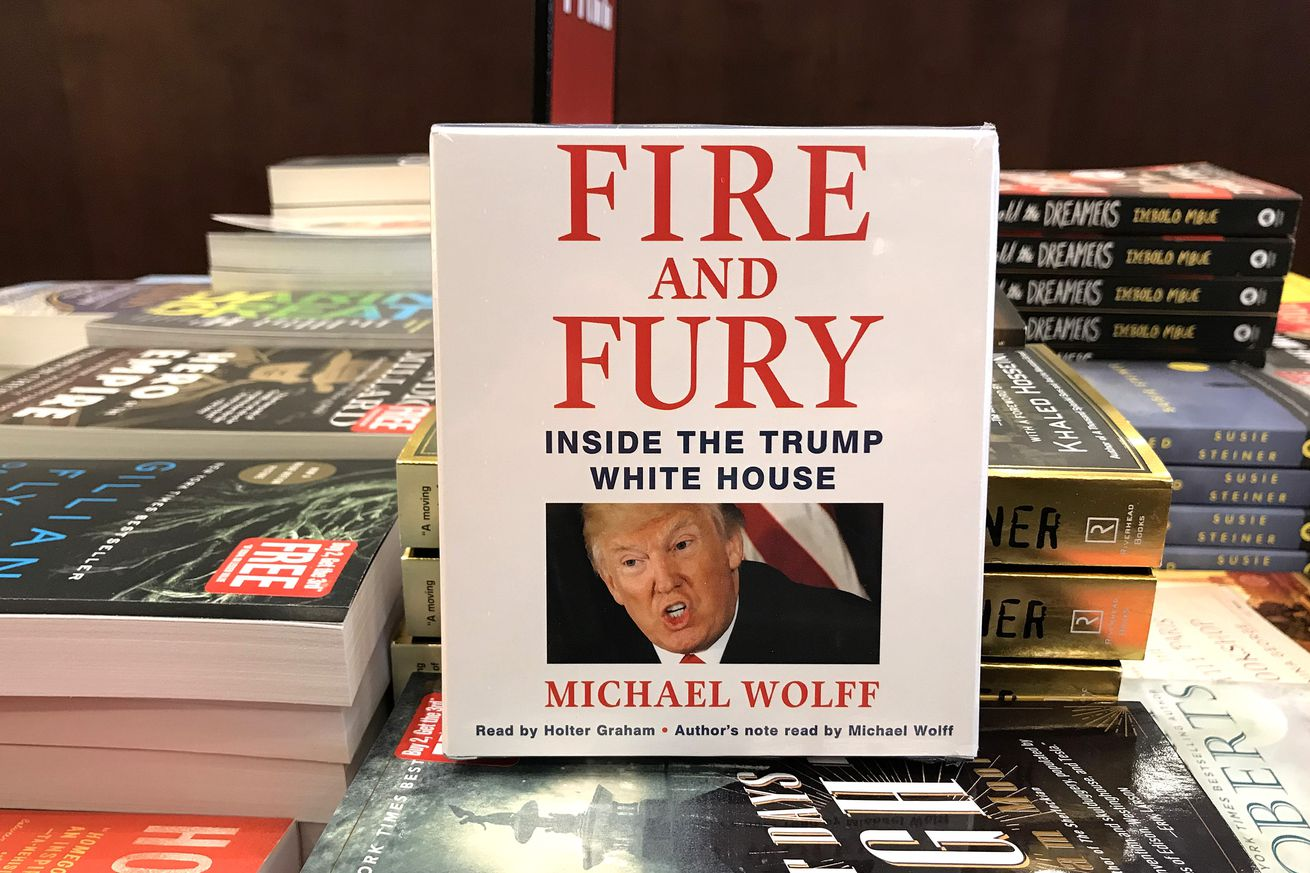 wikileaks is promoting a pirated copy of trump book fire and fury