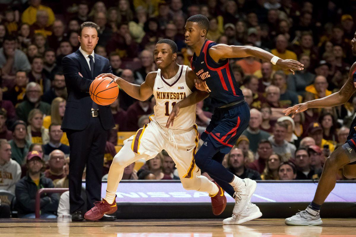 NCAA Basketball: Florida Atlantic at Minnesota