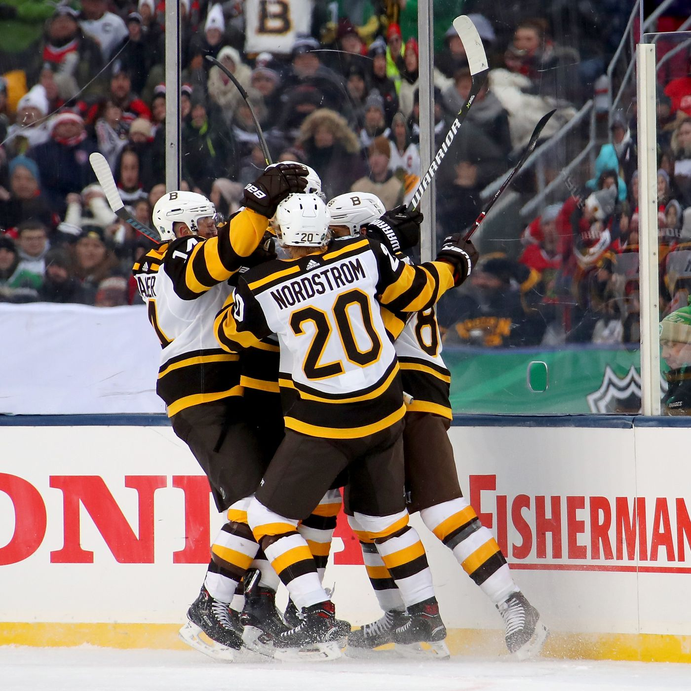 772f23687a6 2019 Winter Classic RECAP: Bruins come out on top 4-2! - Stanley Cup of  Chowder