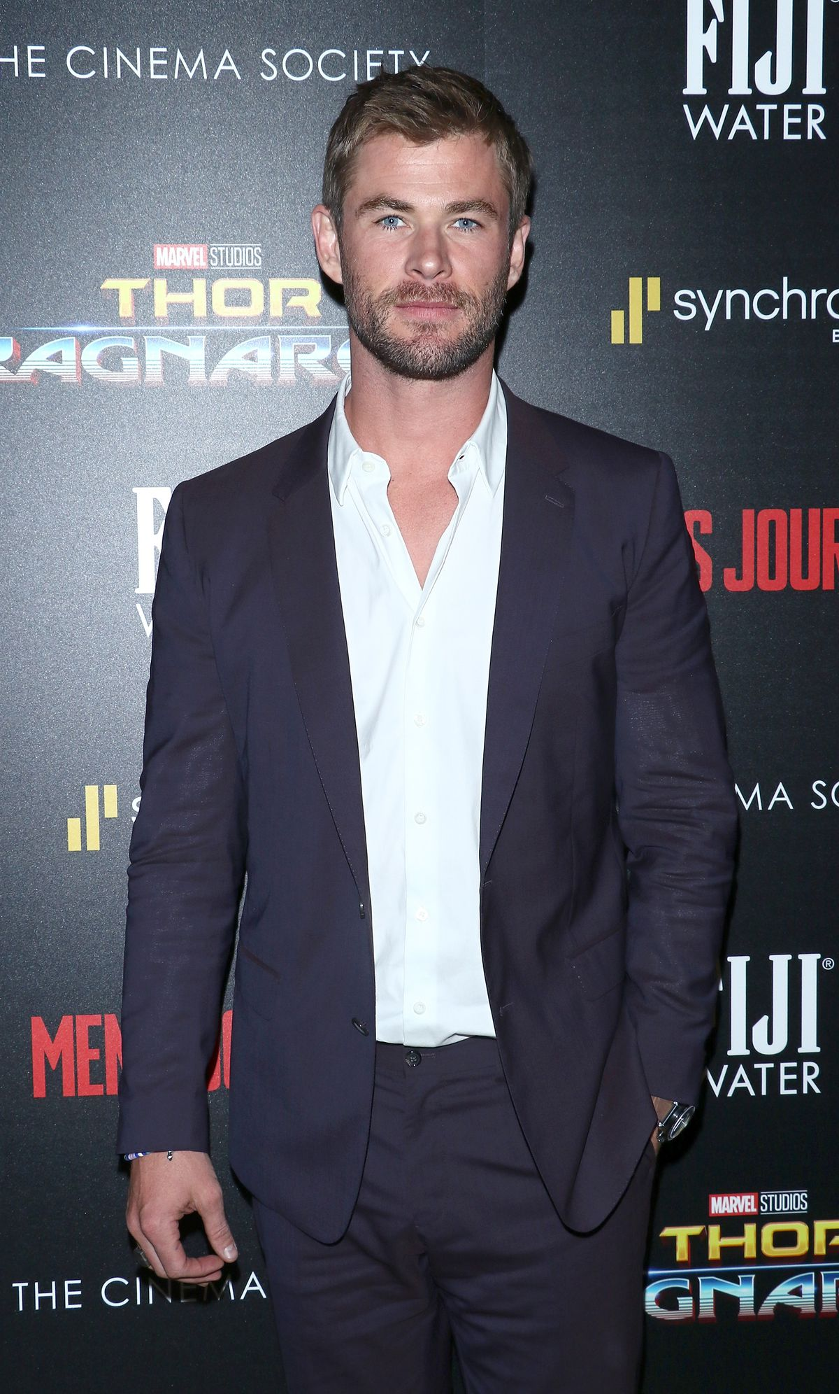 """The Cinema Society With FIJI Water, Men's Journal And Synchrony Host A Screening Of Marvel Studios' """"Thor: Ragnarok"""" - Arrivals"""
