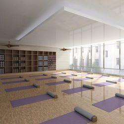 Yoga room.