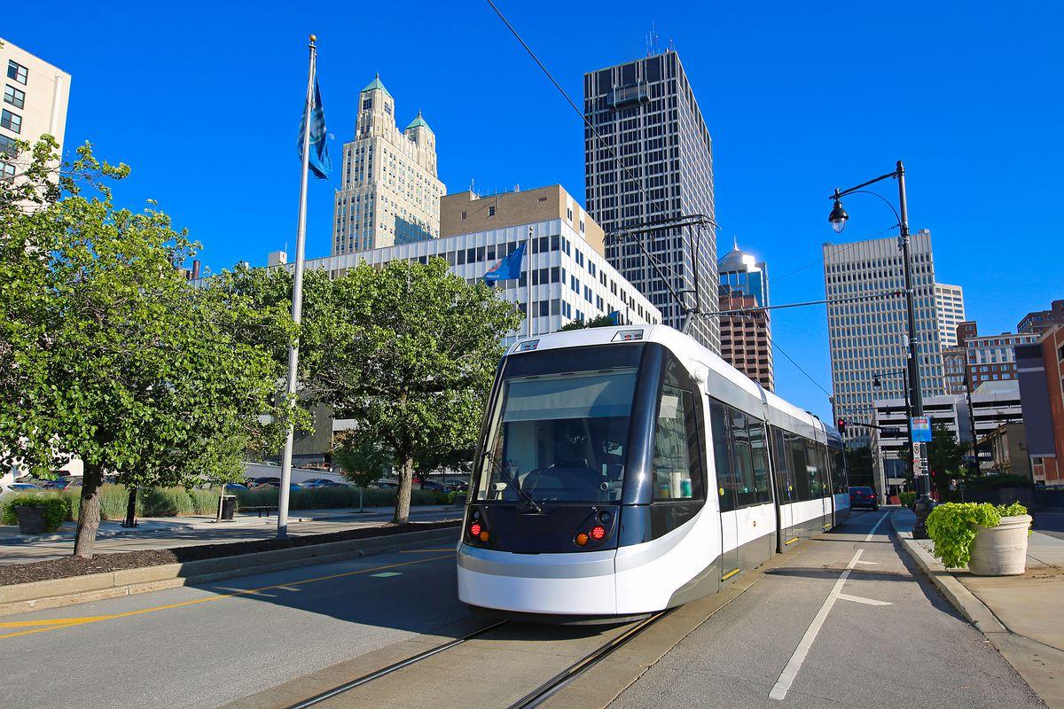 Image of a Kansas City streetcar.