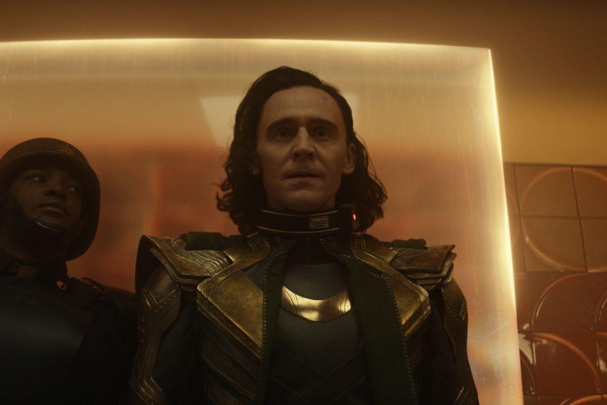 "Loki in ""Loki."""