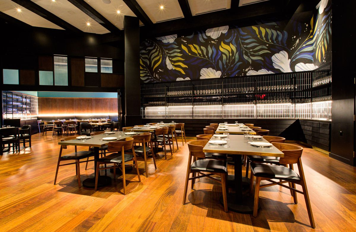 The second dining room at Majordomo
