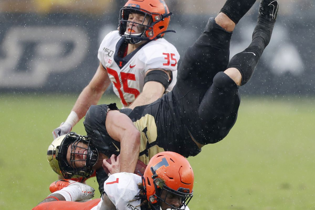 NCAA Football: Illinois at Purdue