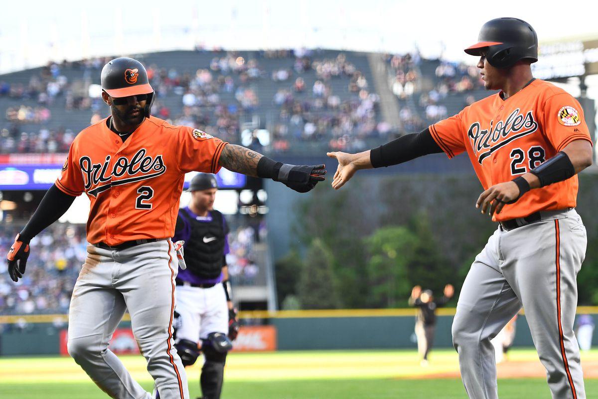 MLB: Baltimore Orioles at Colorado Rockies