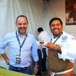 Stephane Bombet and Ricardo Zarate of Mo-Chica