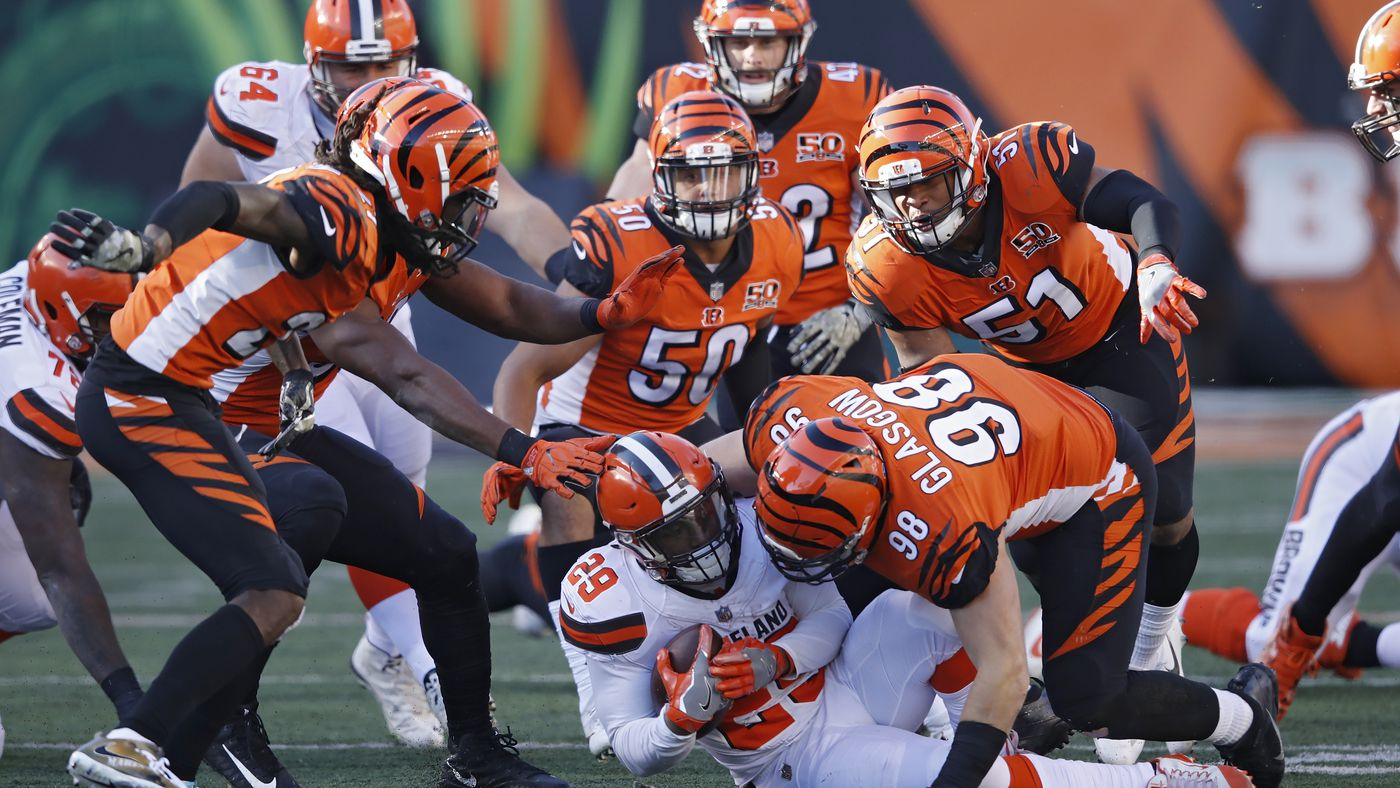 NFL Week 12  Top plays from Bengals  victory over Browns - Cincy Jungle d3090e5c2