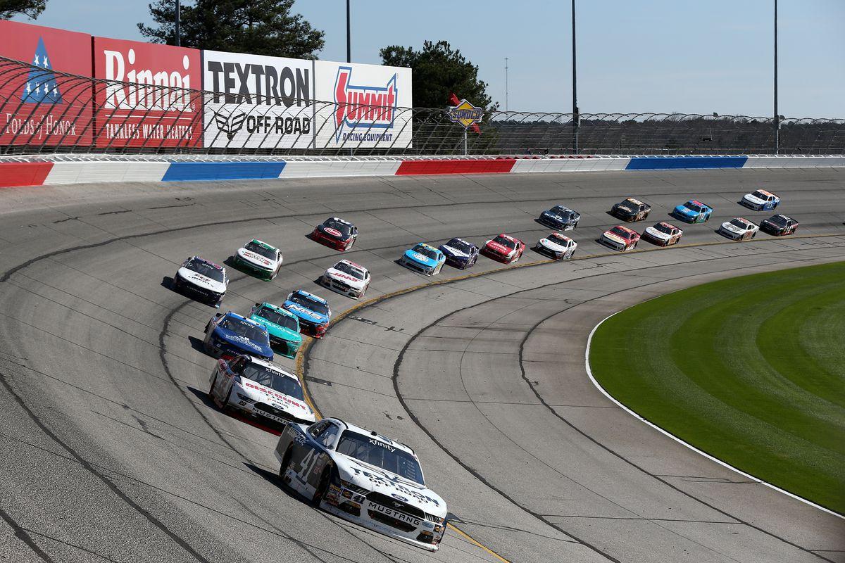 Nascar atlanta motor speedway lineup starting grid for for Atlanta motor speedway fair 2017