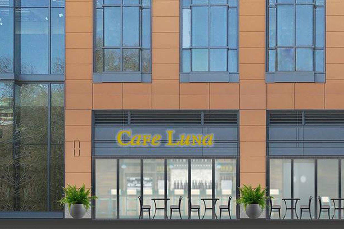 Cafe Luna rendering