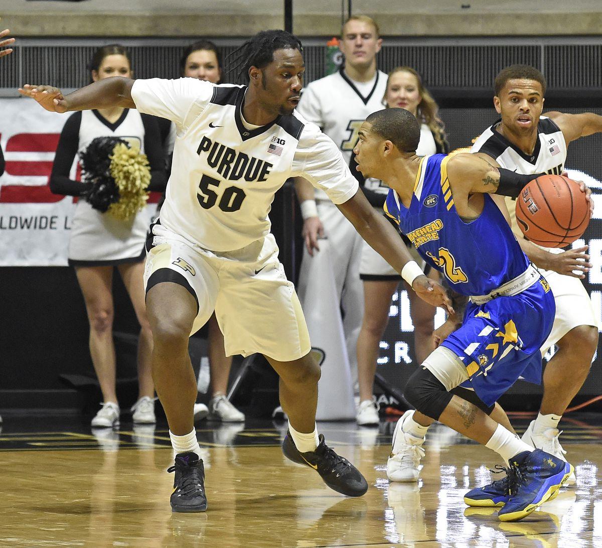 NCAA Basketball: Morehead State at Purdue