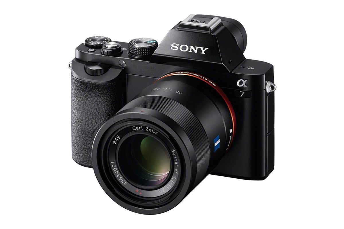 Small camera, big dreams: Sony\'s full-frame Alpha 7 and 7R are here ...