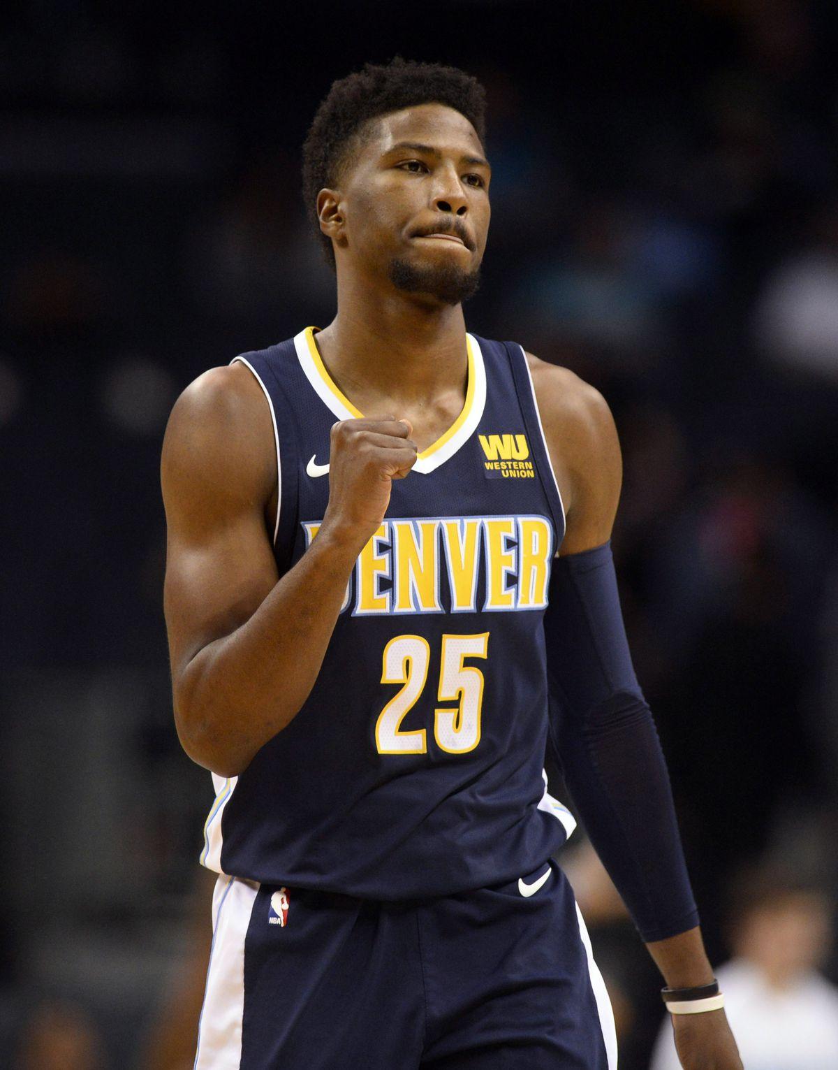 NBA: Denver Nuggets at Charlotte Hornets