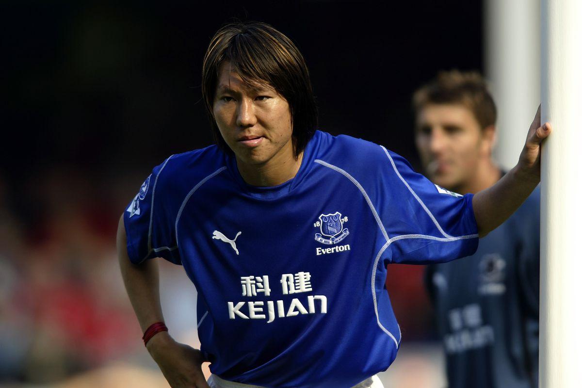 Li Tie of Everton