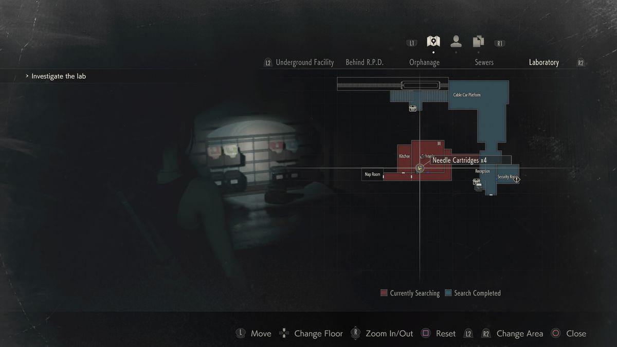 Resident Evil 2 Claire Walkthrough Nest Investigate The