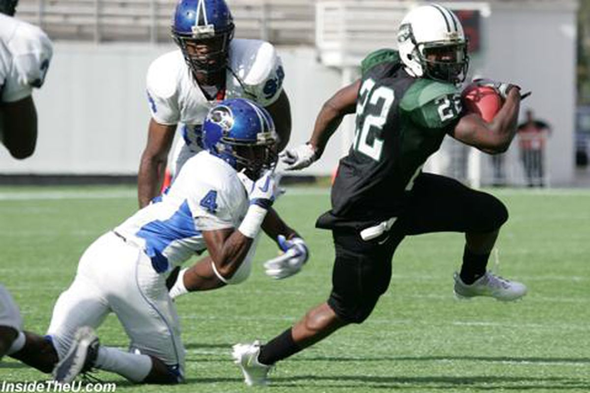 Already a Hurricane Commit, Miami Central RB Joseph Yearby will keep running away from defenders in his hometown