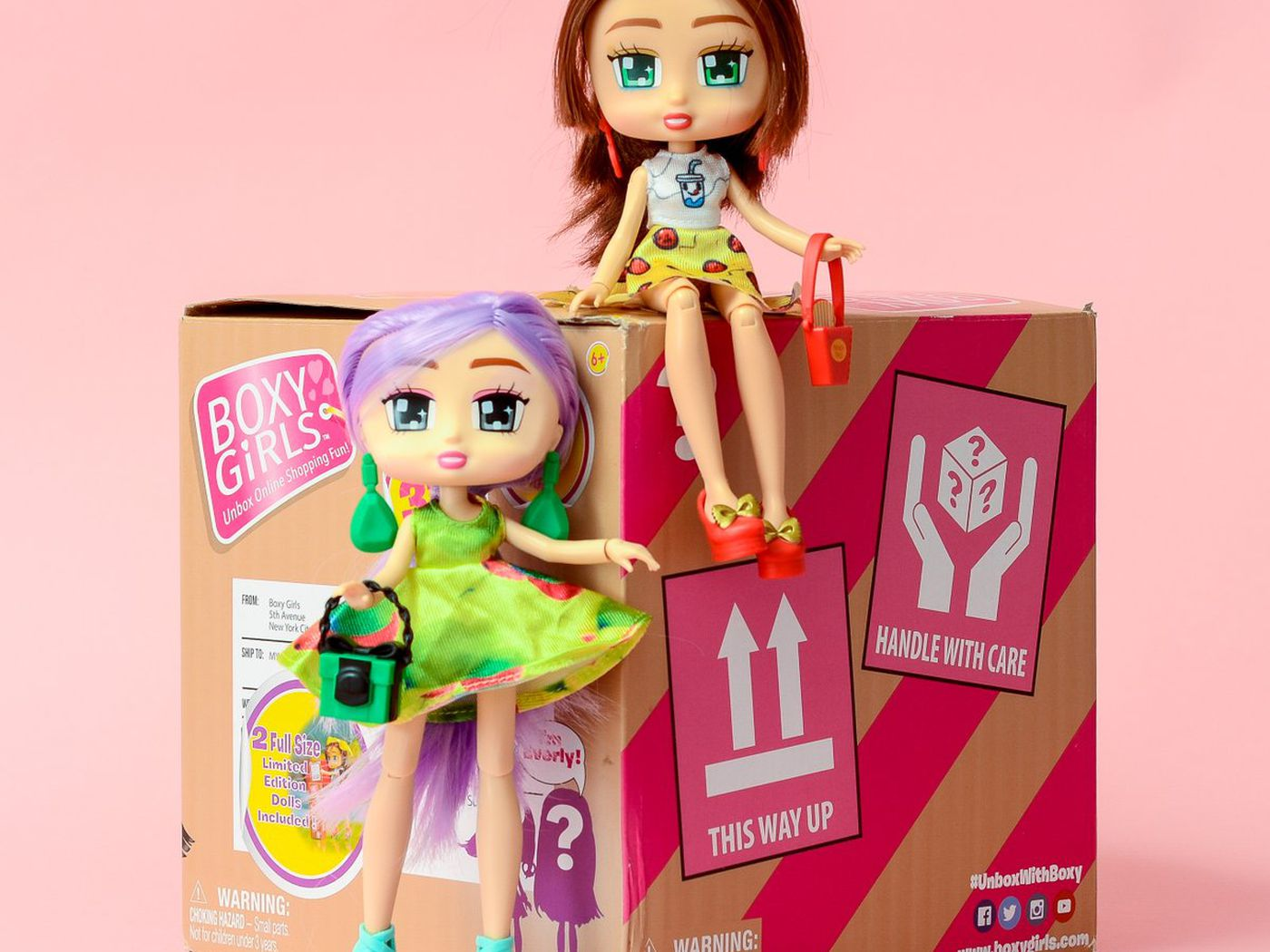 BOXY GIRLS NOMI 12 Fashion Surprises /& 1 Fashion Pack Unbox 20 Fashions 2018 Toy