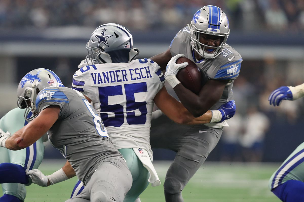 Giving Kerryon Johnson more carries vs. Cowboys wouldn t have changed  anything 7c69d07fc
